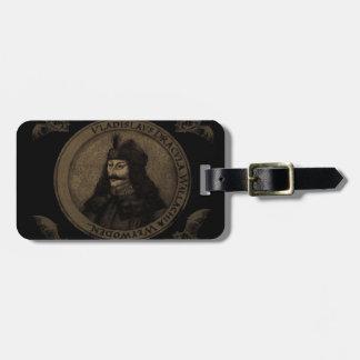 Count Vlad Dracula Luggage Tag