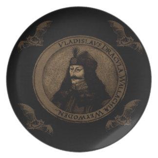 Count Vlad Dracula Plates