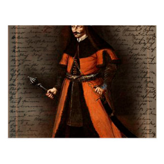Count Vlad Dracula Postcard
