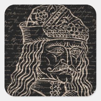 Count Vlad Dracula Square Sticker