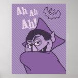 Count von Count - Ah Ah Ah! Poster