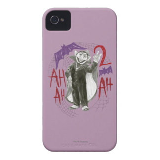 Count von Count B&W Sketch Drawing iPhone 4 Case