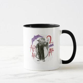 Count von Count B&W Sketch Drawing Mug