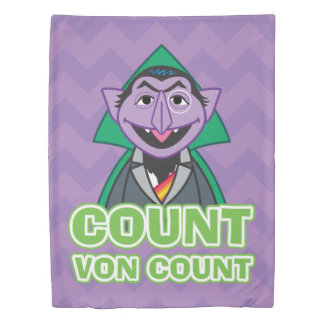 Count von Count Classic Style 2 Duvet Cover