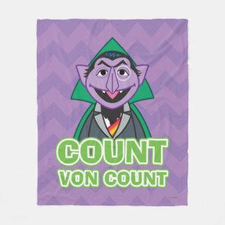Count von Count Classic Style 2 Fleece Blanket