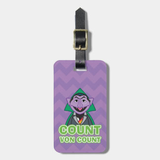 Count von Count Classic Style 2 Luggage Tag