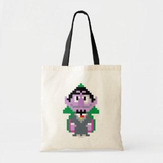 Count von Pixel Art Budget Tote Bag
