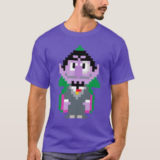 Count von Pixel Art T-Shirt