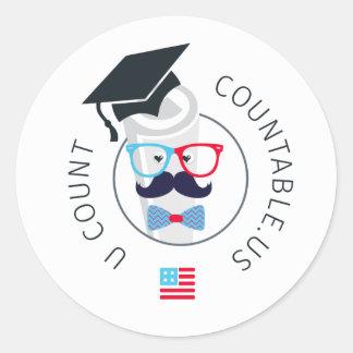 Countable University Ambassador Sticker