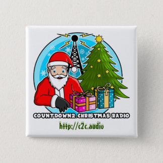 Countdown2.Christmas Radio Square Button