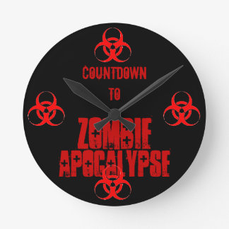 countdown to zombie apocalypse clock