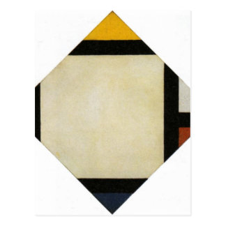 Counter composition VII by Theo van Doesburg Postcard