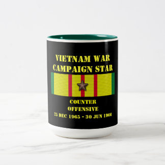 Counter Offensive Campaign Two-Tone Coffee Mug
