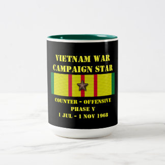 Counter - Offensive Phase V Campaign Two-Tone Mug