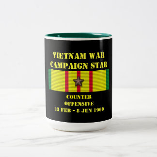 Counter - Offensive Tet 1969 Campaign Two-Tone Coffee Mug