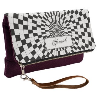 Counter Spirals by Kenneth Yoncich Clutch