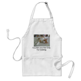 Counters Are Not Only For Cooking Standard Apron