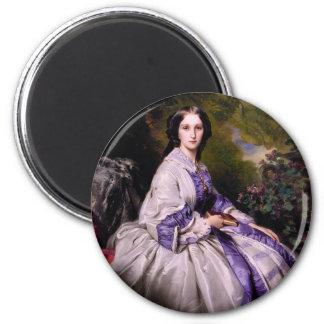 Countess Alexander Nikola 2 Inch Round Magnet