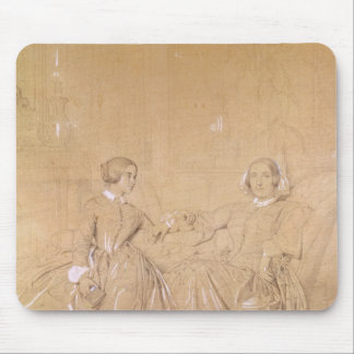 Countess Charles d'Agoult and her daughter Mouse Pad