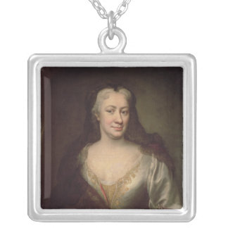 Countess Fuchs, Governess of Maria Theresa Silver Plated Necklace