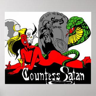 Countess Satan Poster