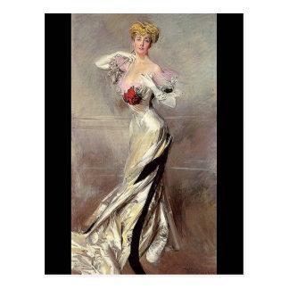 Countess Zichy - Boldini Postcard
