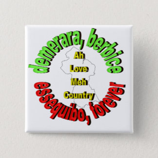 Counties of Guyana Button