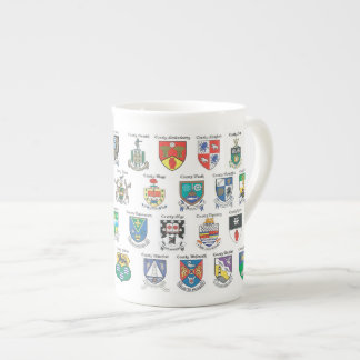 Counties of Ireland Bone China Mug