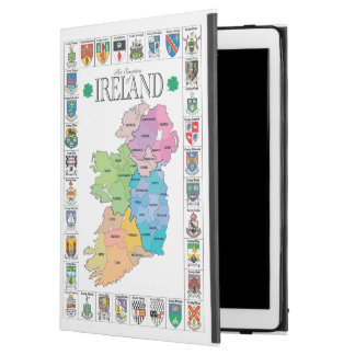 Counties of Ireland iPad Pro Case