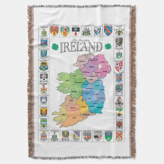 Counties of Ireland Throw lancet