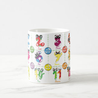 Counting Design Coffee Mug