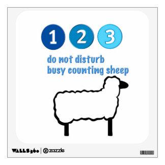 Counting Sheep Wall Decal