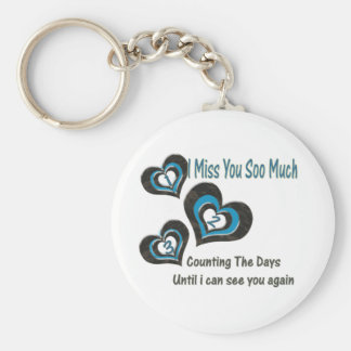 Counting The Days Keychain