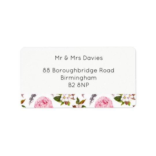 Country Affair  Address Labels