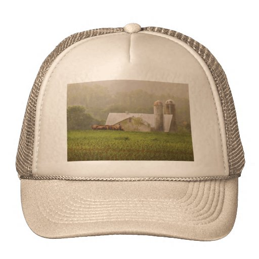 Country - Amish Farming Mesh Hat
