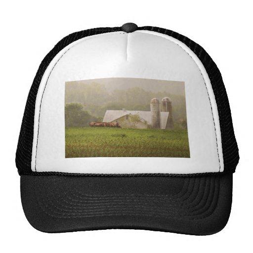 Country - Amish Farming Trucker Hats
