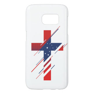 Country and Creed - USA Samsung Galaxy S7 Case