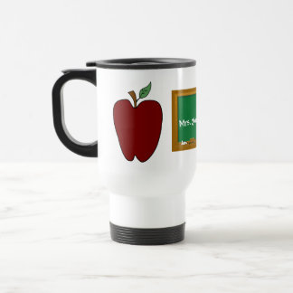 Country Apple Teacher's Travel Mug