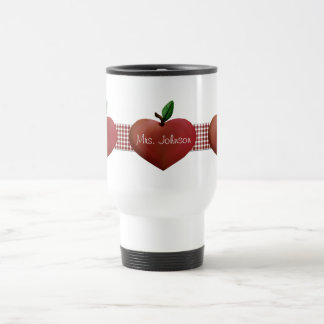Country Apples Teacher's Travel Mug