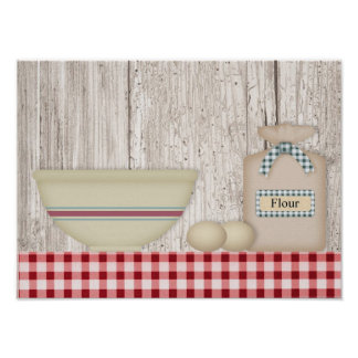 Country Baking Print