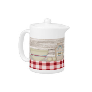 Country Baking Teapot