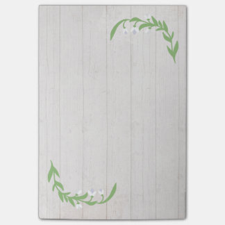 Country Barn Blossoms Post-It Notes