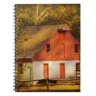 Country - Barn - Out to pasture Spiral Notebook