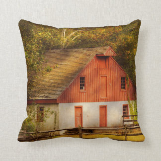 Country - Barn - Out to pasture Throw Pillow