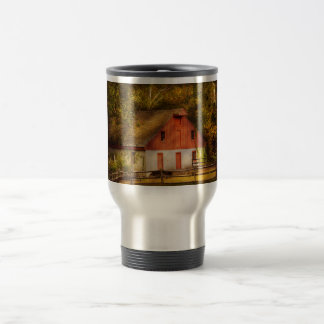 Country - Barn - Out to pasture Travel Mug