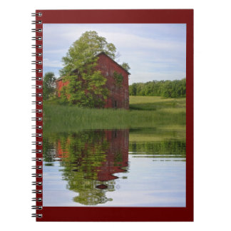 Country Barn Reflections Notebooks