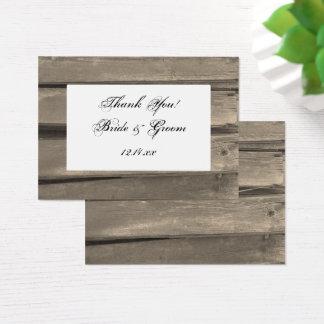 Country Barn Wood Wedding Favor Tags