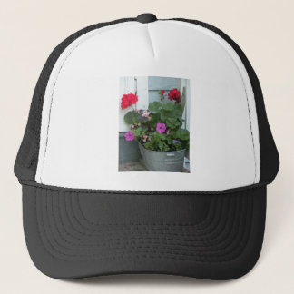 country blossoms trucker hat