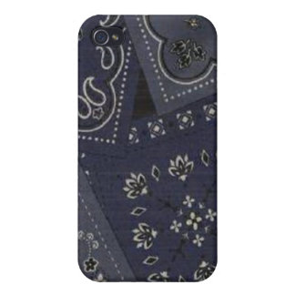 Country Blue Bandana Speck Case iPhone 4 iPhone 4/4S Cover