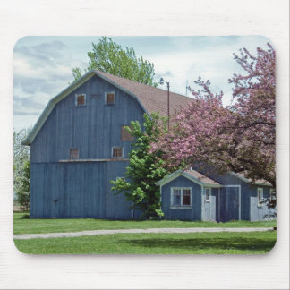 Country Blue Mouse Pad